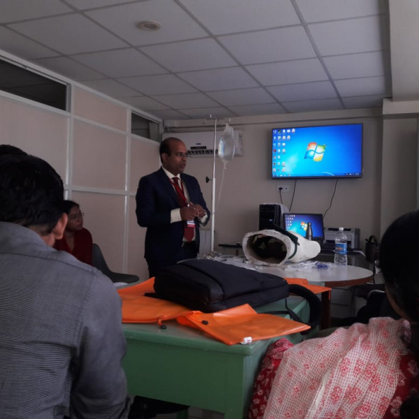 Work station in critical care conference Dr. Siddesh Dhaygude (4)