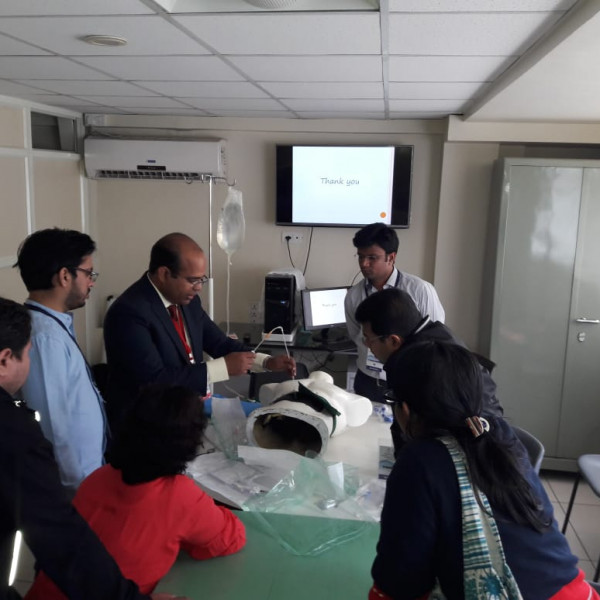Work station in critical care conference Dr. Siddesh Dhaygude (6)